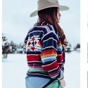 MELBOURNE Vintage Southwest Knit Cardigan